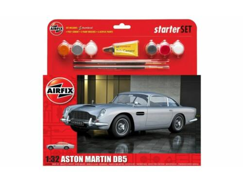 Airfix Medium Starter Set - Aston Martin DB5 Silver 1:32 (A50089B)