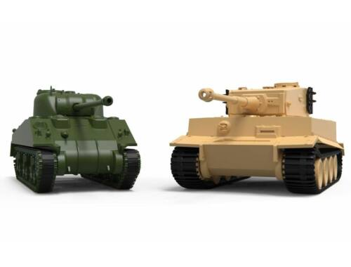Airfix Classic Conflict Tiger 1 vs Sherman Firefly 1:72 (A50186)