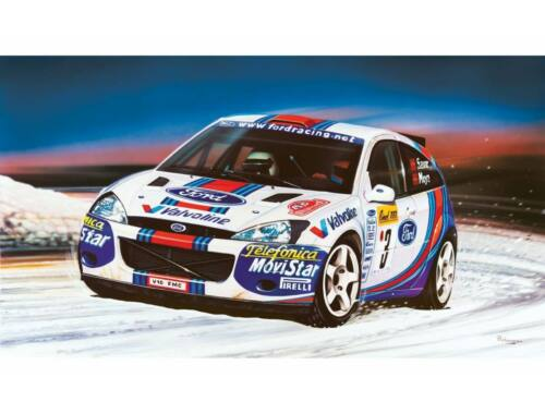 Airfix Small Starter Set Ford Focus WRC 1:43 (A55122)