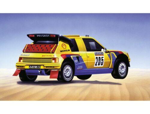 Airfix Small Starter Set Peugeot 205 T16 'Paris - Dakar 1:43 (A55123)