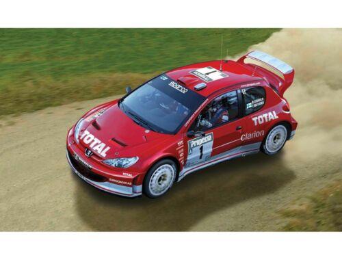 Airfix Small Starter Set Peugeot 206 WRC 1:43 (A55124)