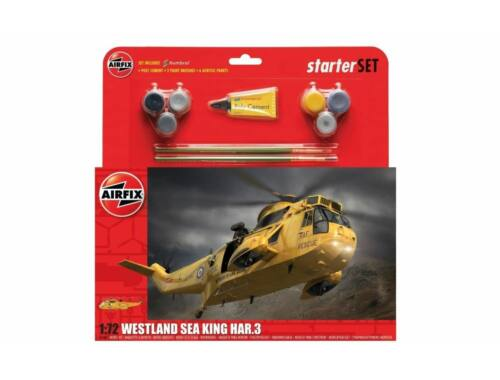 Airfix Large Starter Set Westland Sea King HAR.3 1:72 (A55307A)