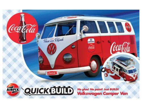Airfix QUICKBUILD Coca-Cola VW Camper Van (J6047)