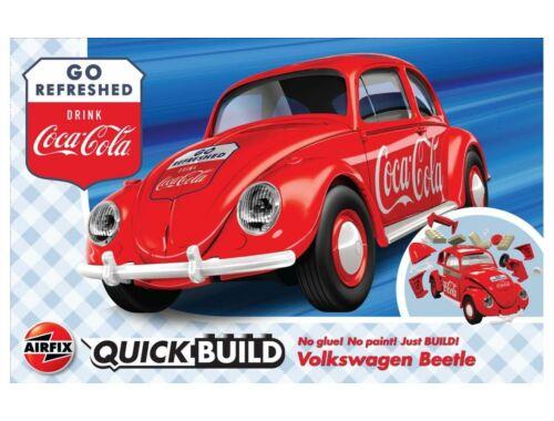 Airfix QUICKBUILD Coca-Cola VW Beetle (J6048)