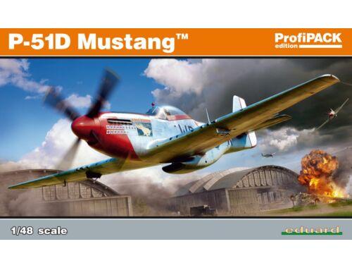 Eduard P-51D Mustang, Profipack 1:48 (82102)