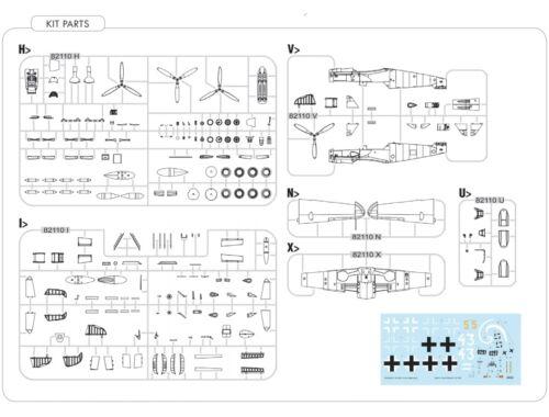 Eduard Bf 109G-10 Mtt. Regensburg, Weekend Edition 1:48 (84168)