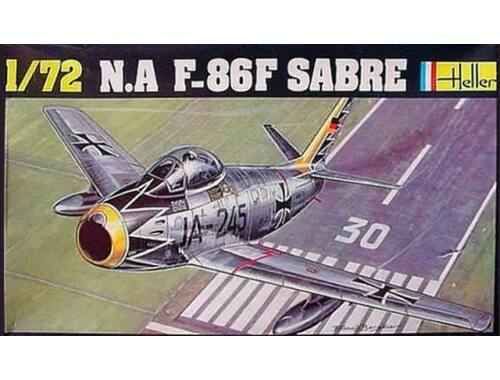 Heller N.A. F-86F SABRE 1:72 (80277)