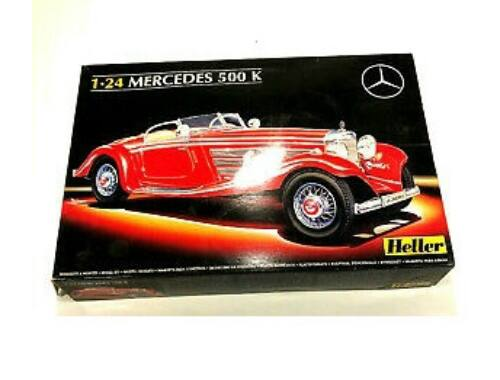Heller Mercedes 500 K Special Roadster 1:24 (80710)