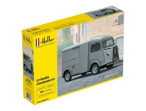 Heller CITROEN Type H 3 decorations 1:24 (80744)