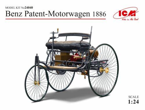ICM Benz Patent-Motorwagen 1886 1:24 (24040)