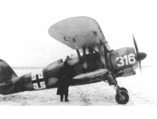 ICM CR. 42 LW with German Pilots 1:32 (32022)