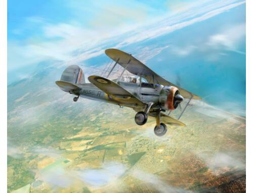 ICM Gloster Sea Gladiator Mk.II , WWII British Naval Fighter 1:32 (32042)