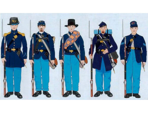 ICM American Civil War Union Infantry 1:35 (35020)