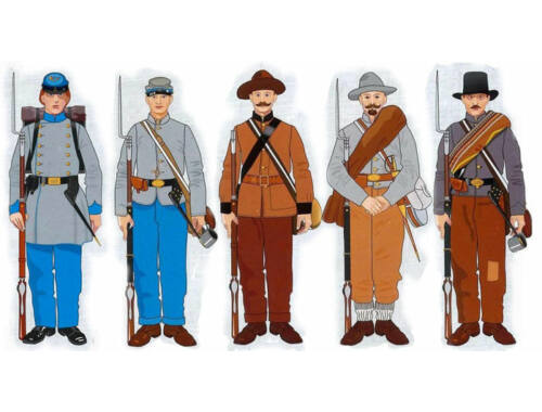 ICM American Civil War Confederate Infantry 1:35 (35021)