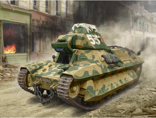 ICM FCM 36, WWII French Light Tank 1:35 (35336)