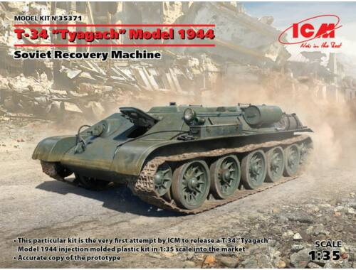 ICM T-34 Tyagach Model 1944, Soviet Recovery Machine 1:35 (35371)