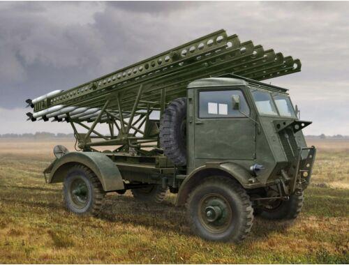 ICM BM-13-16 on W.O.T. 8 chassis, WWII Soviet MLRS 1:35 (35591)