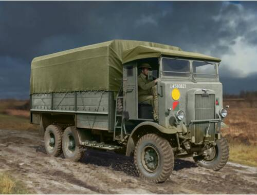 ICM Leyland Retriever General Service, WWII British Truck 1:35 (35600)