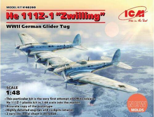 ICM He 111Z-1 Zwilling, WWII German Glider Tug 1:48 (48260)