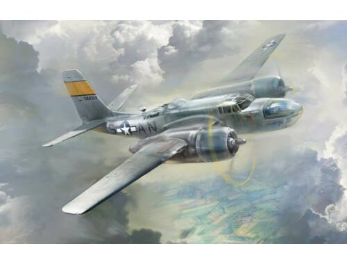 ICM A-26-15 Invader, WWII American Bomber 1:48 (48283)