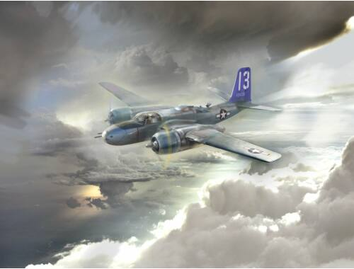 ICM A-26 Invader Pacific War Theater, WWII American Bomber 1:48 (48285)