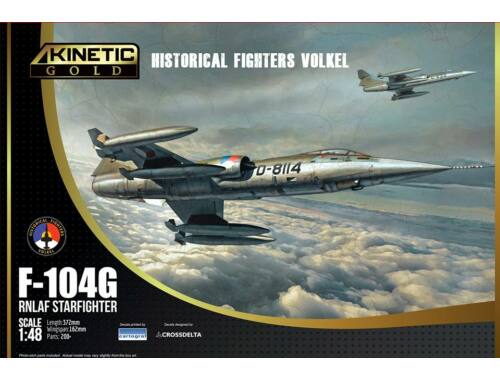 KINETIC F-104G RNLAF Starfighter NETHERLAND 1:48 (K48090)