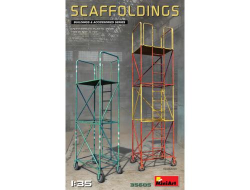 MiniArt Scaffoldings 1:35 (35605)