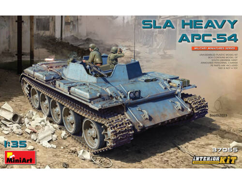 MiniArt SLA Heavy APC-54. Interior Kit 1:35 (37055)