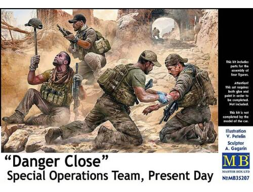 Master Box Danger Close. Special Operations Team, Present Day 1:35 (35207)