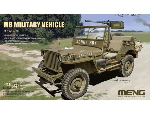 MENG MB Military Vehicle 1:35 (VS-011)