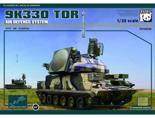 PANDA Hobby 9K330 Tor w/metal track link Air Defence SystemVER.2.0 1:35 (PH35008V)