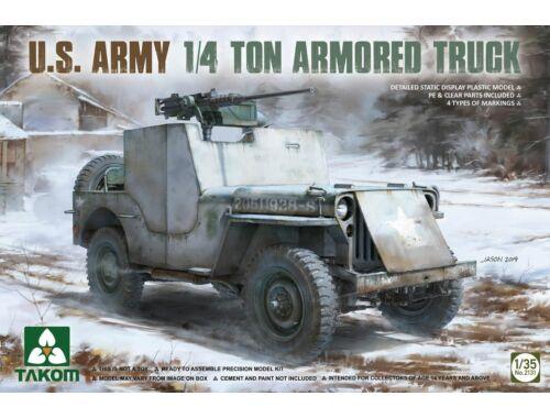 Takom U.S. Army 1/4 ton armored truck 1:35 (2131)