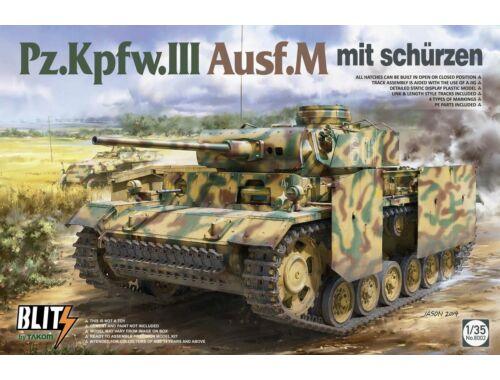 Takom Pz.Kpfw.III Ausf.M mit Schürzen 1:35 (8002)
