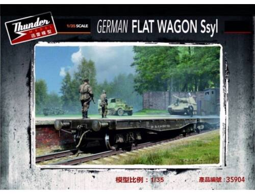 Thundermodels German Fiat Wagon Ssyl 1:35 (35904)