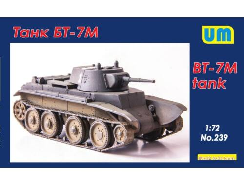 Unimodels BT-7M tank 1:72 (239)