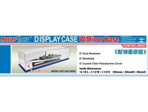Trumpeter Master Tools Display Case w/Mirror Base 359x89x89mm (9851)