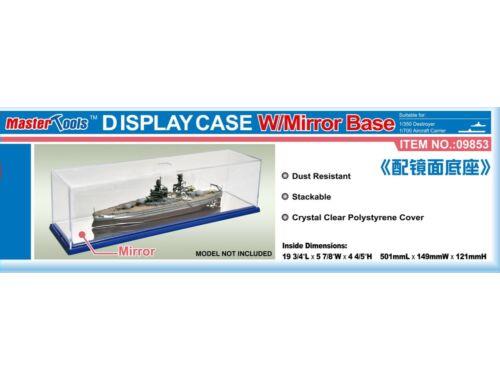 Trumpeter Master Tools Display Case w/Mirror Base 501x149x121mm (9853)
