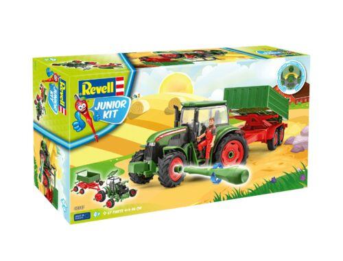 Revell Junior KIT Tractor   Trailer incl. figure 1:20 (0817)