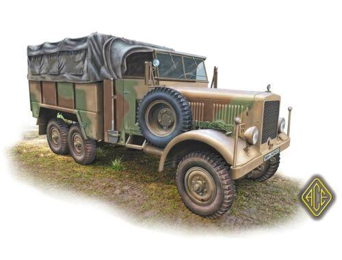 ACE Einheints-Diesel 2.5t 6x6 Lastkraftwagen (LKW) 1:72 (72578)