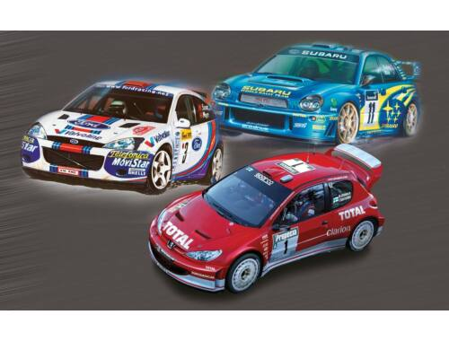 Airfix Rally Car Collection 1:43 (A50188)