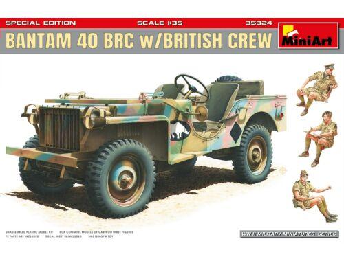MiniArt Bantam 40 BRC w/British Crew. Special Edition 1:35 (35324)