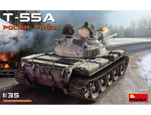 MiniArt T-55A Polish production 1:35 (37090)