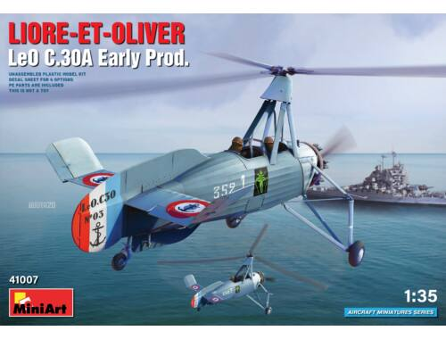 MiniArt Liore-et-Oliver LeO C.30A Early Prod 1:35 (41007)