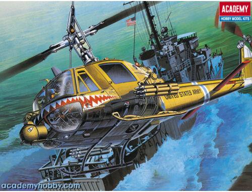 """Academy U.S.ARMY UH-1C """"FROG"""" 1:35 (12112)"""