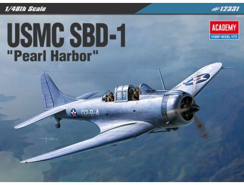 "Academy USMC SBD-1 ""Pearl Harbor"" 1:48 (12331)"