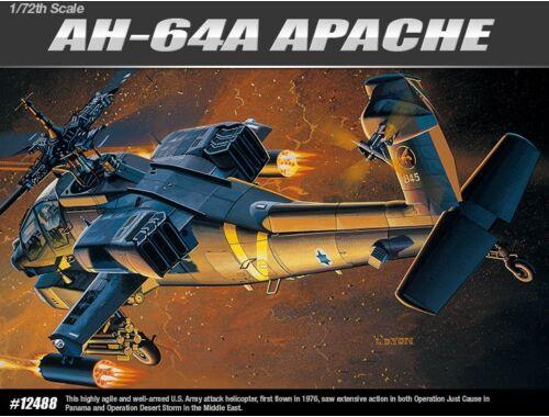 Academy AH-64A 1:72 (12488)