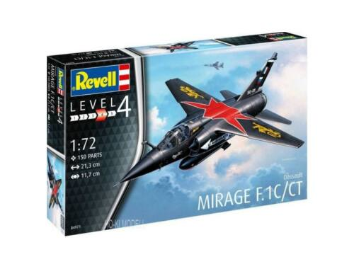 Revell Dassault Mirage F-1C/CT 1:72 (4971)