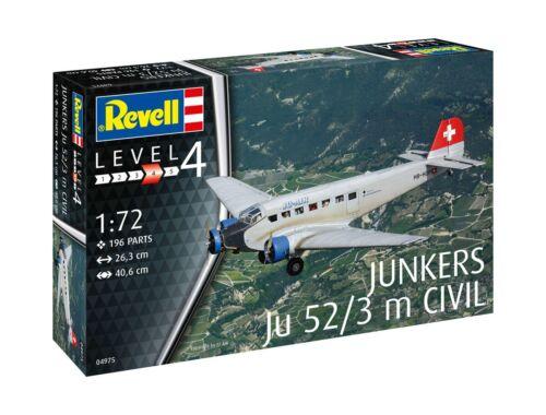 Revell Junkers Ju52/3m Civil 1:72 (4975)