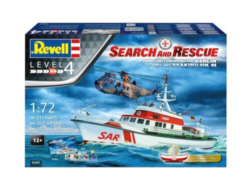 Revell Gift Set SAR - DGzRS Arkona   Westland Sea King Mk 41 1:72 (5683)