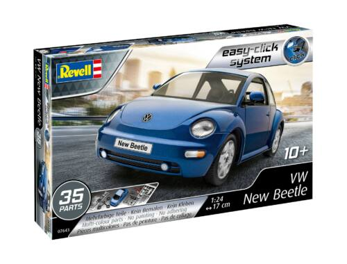 Revell Easy Click VW New Beetle 1:24 (7643)